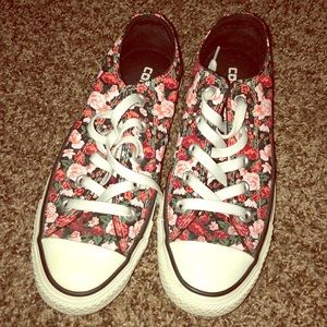 Limited Edition Floral Converse