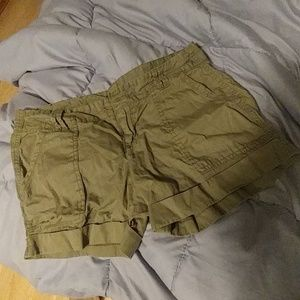 NWOT Old Navy Olive Green Shorts