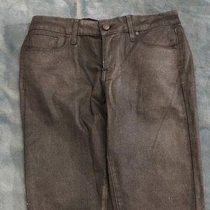 Paige sparkling grey skinny jeans