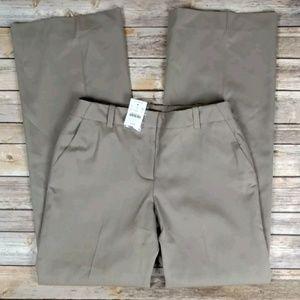 J Crew Favorite Fit Rye Beige Wool Trousers Pants
