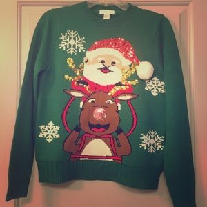 NWT Tacky holiday Christmas sweater