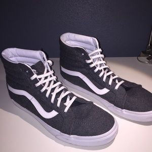 High top Vans (price negotiable)