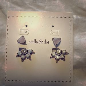 Stella & Dot Eva ear jacket earrings
