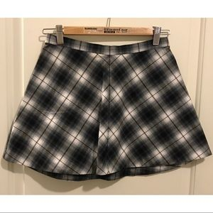 Urban Outfitters flannel patterned skirt