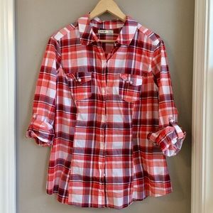 XL Old Navy Plaid Button Down