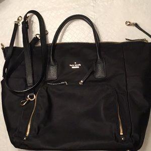 Zippered Diaper Bag