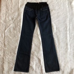 NWOT Paige Benedict Canyon Bootcut Maternity Jeans
