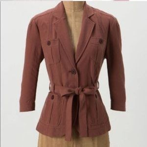 Anthropologie Cartonnier Paprika Expedition jacket