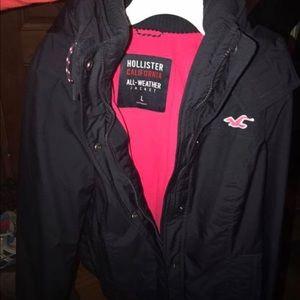 Like new, Hollister coat!