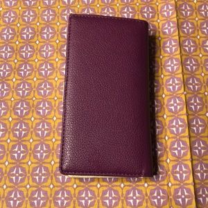 Dark purple wallet!