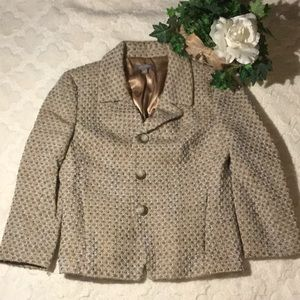 EUC Ann Taylor Wool 3 Button Blazer, 6
