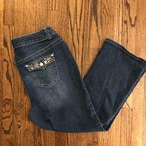 Lane Bryant Jeans Sz. 20. Bling on pockets.