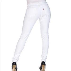 👖 Levi's San Francisco White Straight Leg Jean 👖
