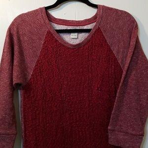 💥💥⬇️PRICEDROP💥💥Lucky Brand maroon sweater