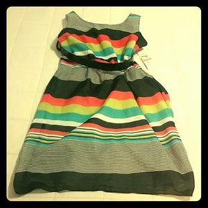 Multi-color Stripe/Summer Dress/Size 12