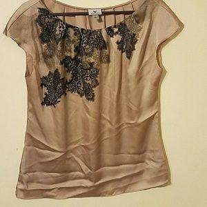Silky sexy dressy blouse