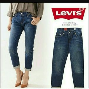 Levi's 501 CT medium wash boyfriend jeans NWOT