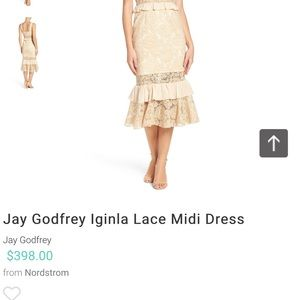 7e4ad9a5027a Jay Godfrey Dresses - 💥 JAY GODFREY NWT LACE DRESS