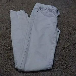 Womens white skinny jeans
