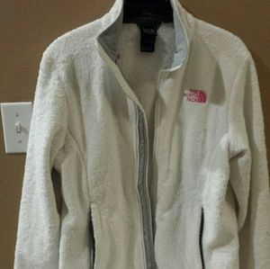 THE NORTH FACE WOMEN'S OSITO PINK LOGO JACKET