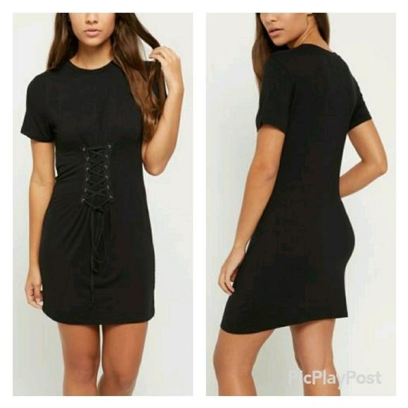 c02711391d46 Dresses | Name Your Price Hp Black Corset Tee Dress | Poshmark