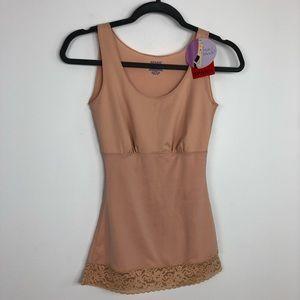 Spanx Hide & Sleek Body Smoothing Camisole Nude