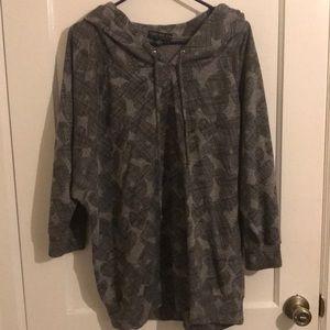 Forever 21 Hoodie 3/4 sleeve sweater 3XL