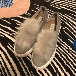 Platform Pom Pom Sneakers