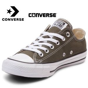 Olive Converse All-Star Ladies' 7.5  Chuck Taylors