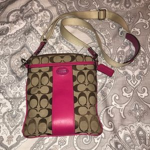 Coach crossbody and wallet and change purse!!
