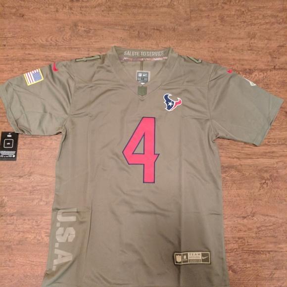 9004b5d0 Men's Houston Texans Deshaun Watson Service Jersey Boutique