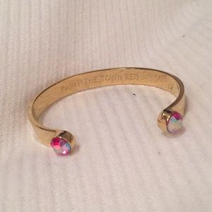 Kate Spade open jeweled bangle