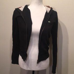 Black Lacoste jacket