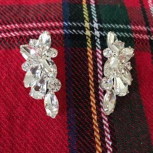 Jewelry - Crystal Cluster Earrings