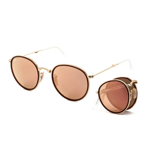 96ad94d871 RAY-BAN RB3517 Round Folding Sunglasses 001 Z2