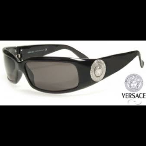 1676aedf52a6 Versace Black Sunglasses. M 5a307f7499086af3ee00ce51. Other Accessories ...