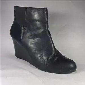 Michael Kors Black Wedge boot booties