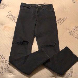 "Women's Topshop ""Moto Jamie"" skinny jeans."