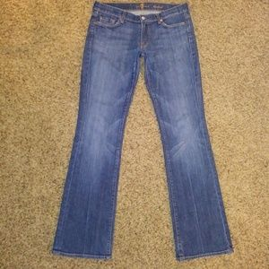 **DISCOUNTED!!** Size 31 bootcut 7FAM jeans