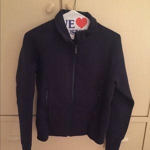 Lululemon navy cinched jacket