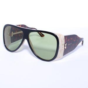 Gucci GG0149S black havana/green  Sunglasses
