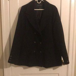 3XL Forever 21 Black Pea Coat