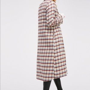 Free a People x CP Shades Flannel Maxi