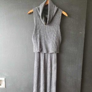 A+O midi knit dress