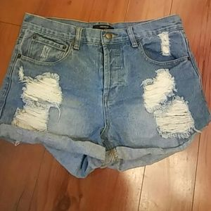 💙💙Forever 21 jean shorts💙💙