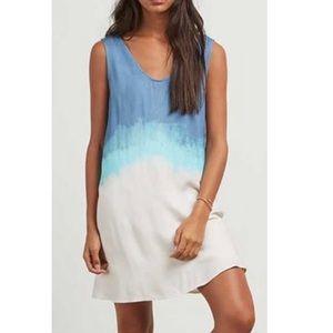 BB Dakota Orla Ombré Cloud Print Dress
