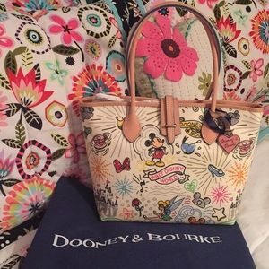 Disney Dooney & Bourke Sketch Tote