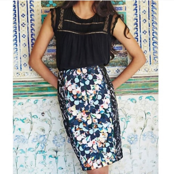 931de9eeab6 Anthropologie Dresses   Skirts - Anthro s beguile by Byron Lars paillette  skirt
