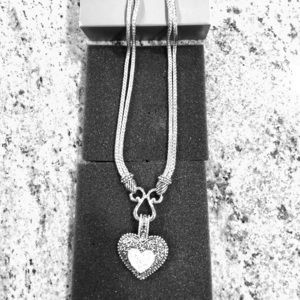 Lia Sophia Heart Necklace