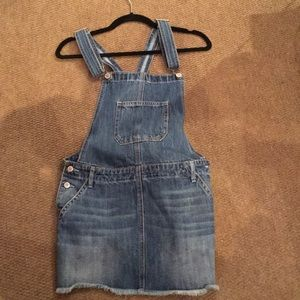 NWB Hollister & Co. Denim Overall Skirt
